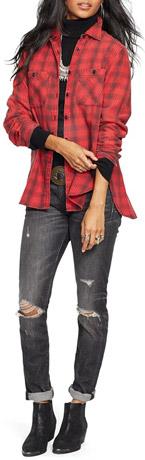 Denim & Supply Ralph Lauren Flannel Utility Shirt