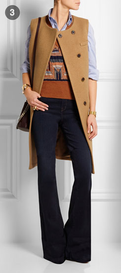 JCREW Collection Cora Boiled Wool Gilet