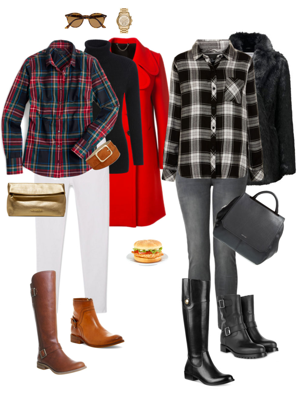 Ensemble: Equestrian Plaid & Boots