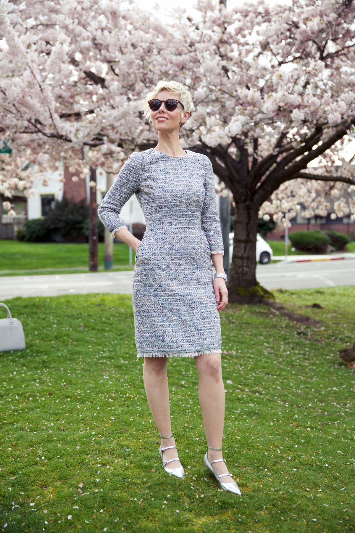 Spring Tweed - Dress