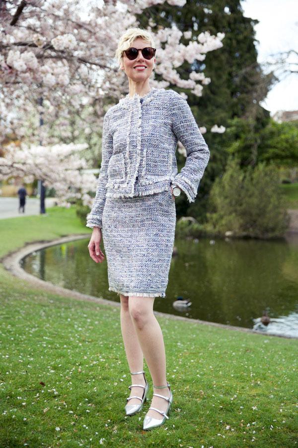 Spring Tweed - Jacket Closed