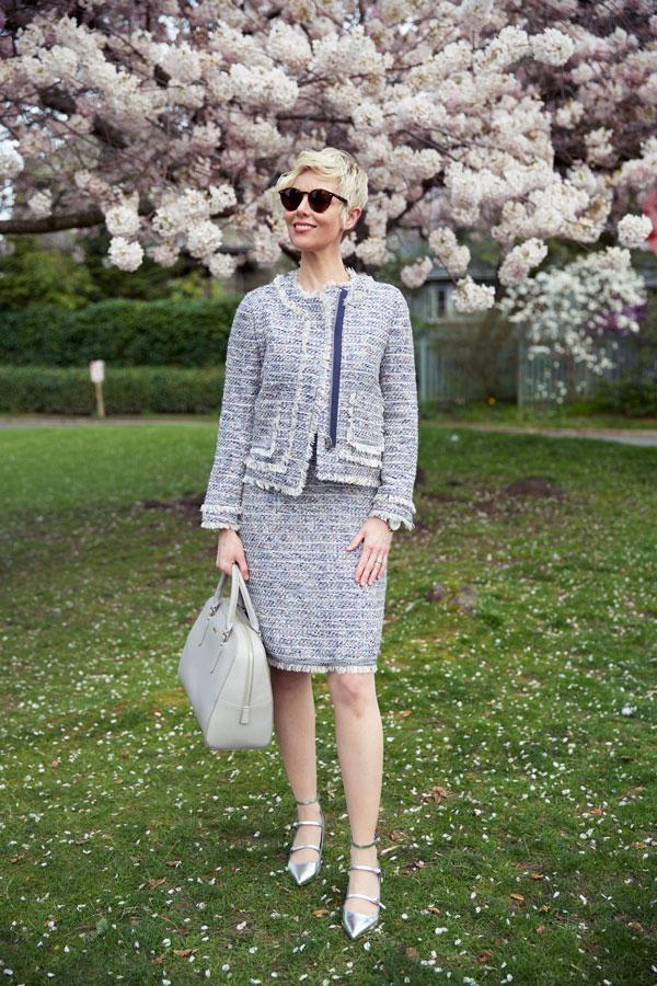 Spring Tweed Jacket - Open