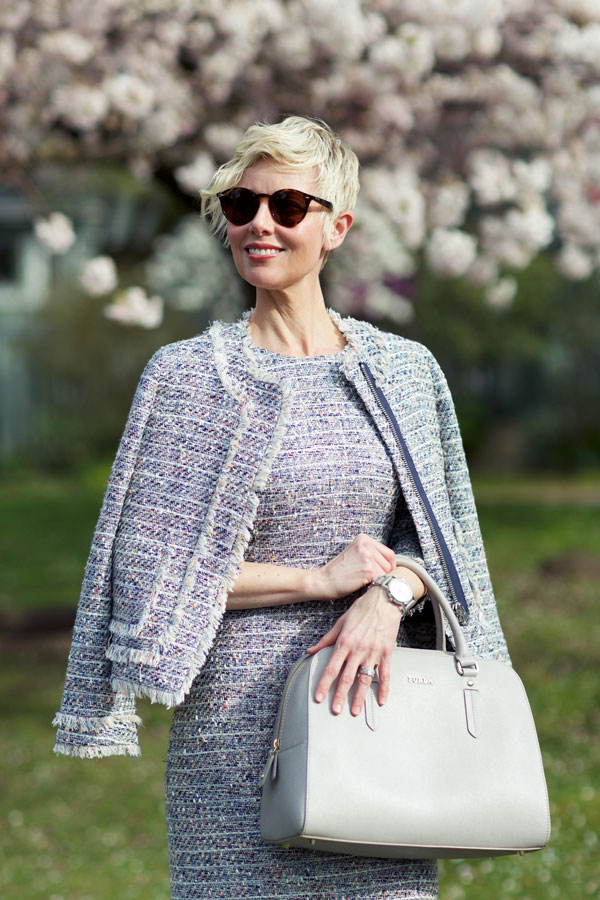 Spring Tweed Jacket - Shoulder