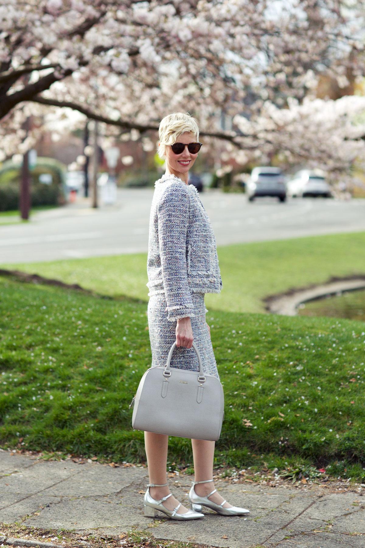 Spring Tweed Jacket - Side