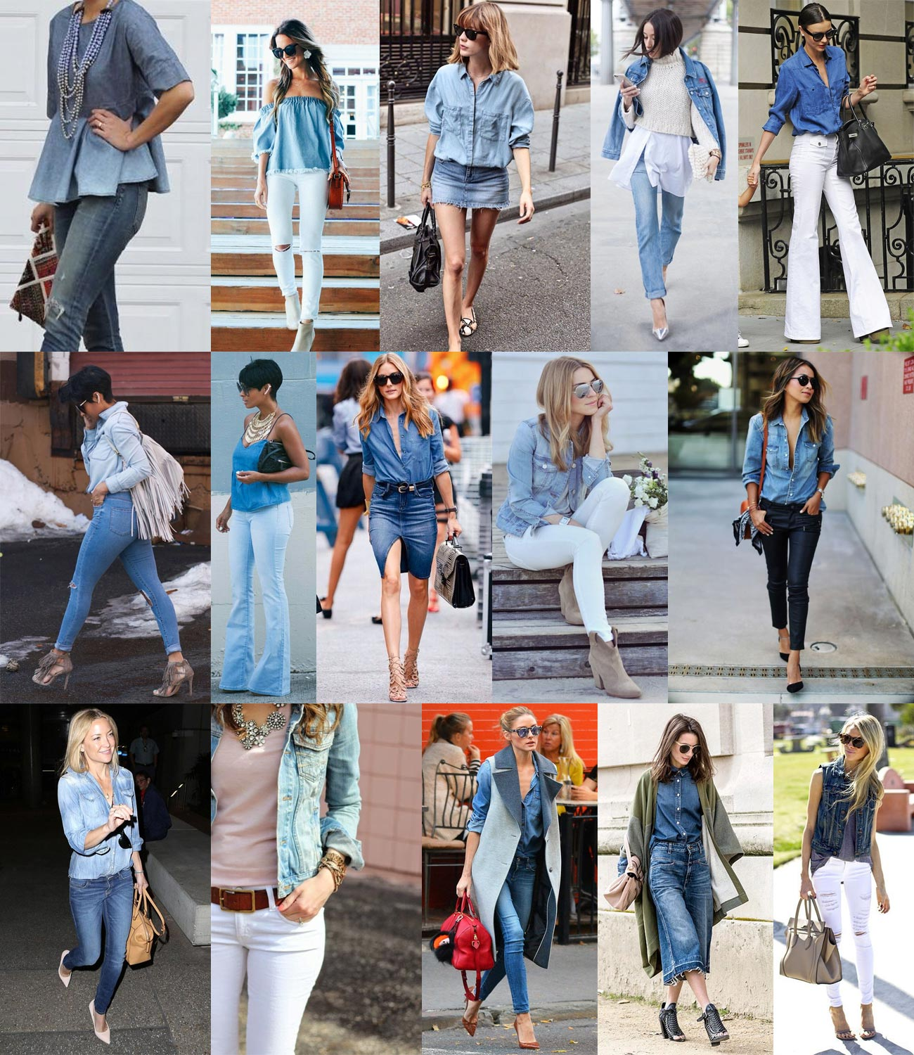 Double Denim Examples