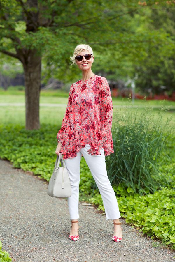 Matchy Florals - Blouse