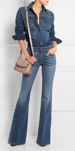 TOM FORD High-rise Flared Jeans