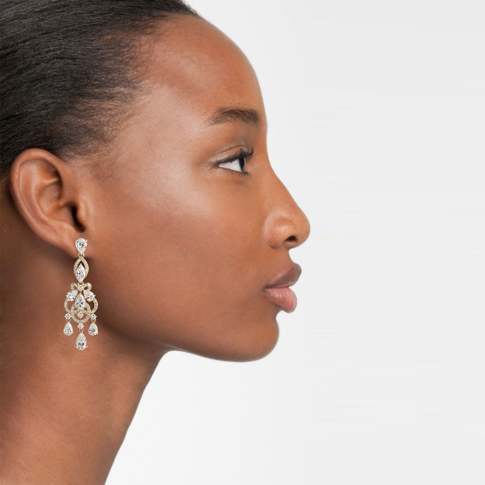 Nadri Legacy Crystal Chandelier Earrings