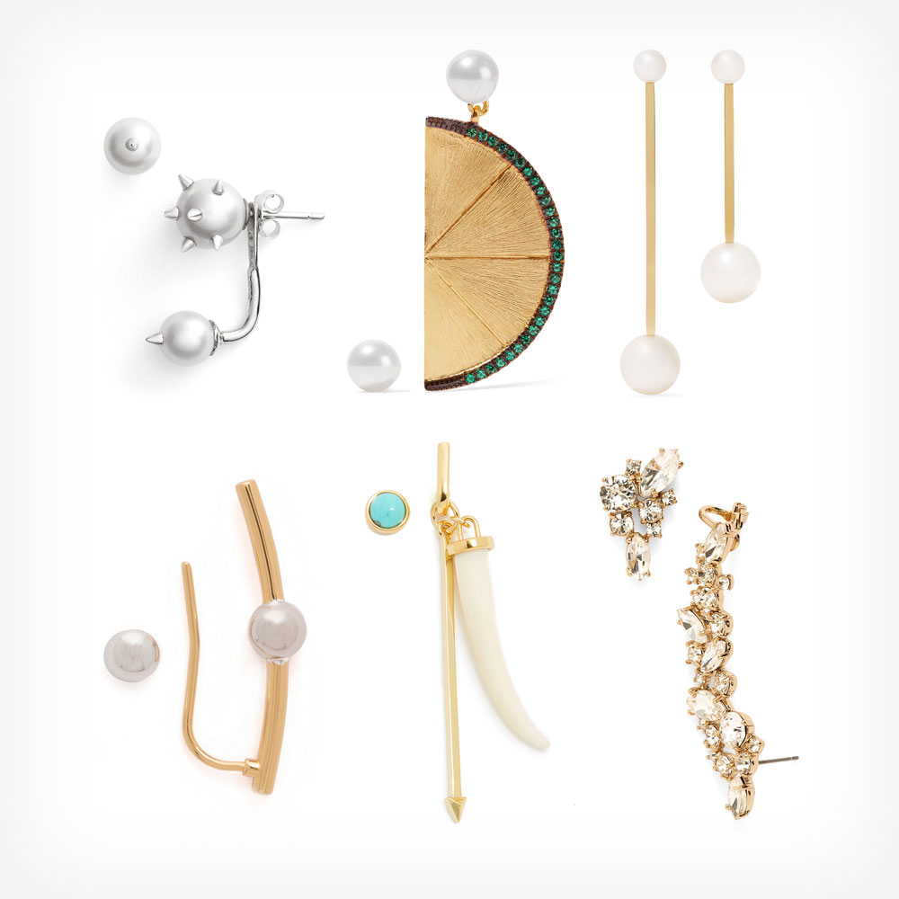 the matchy mismatched earring - ylf