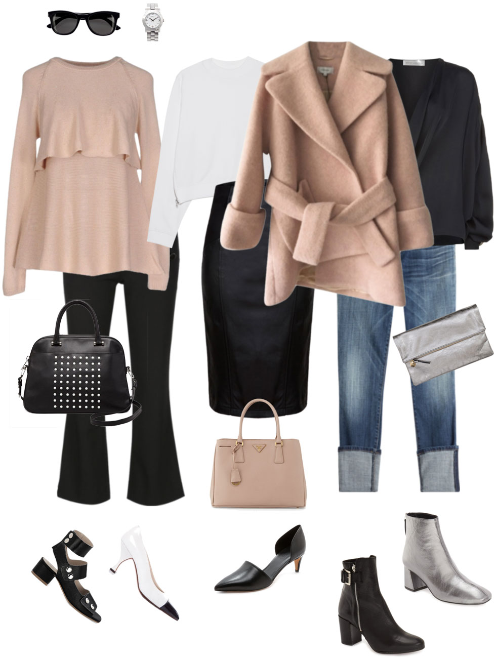 Ensemble: Easy Black & Blush