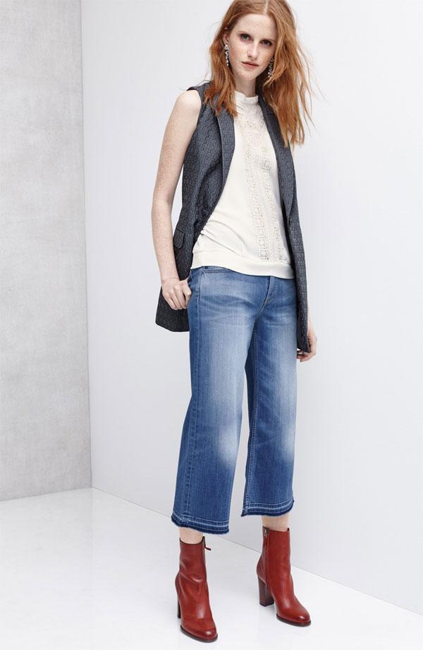 Chelsea28 Vest Tank Jeans