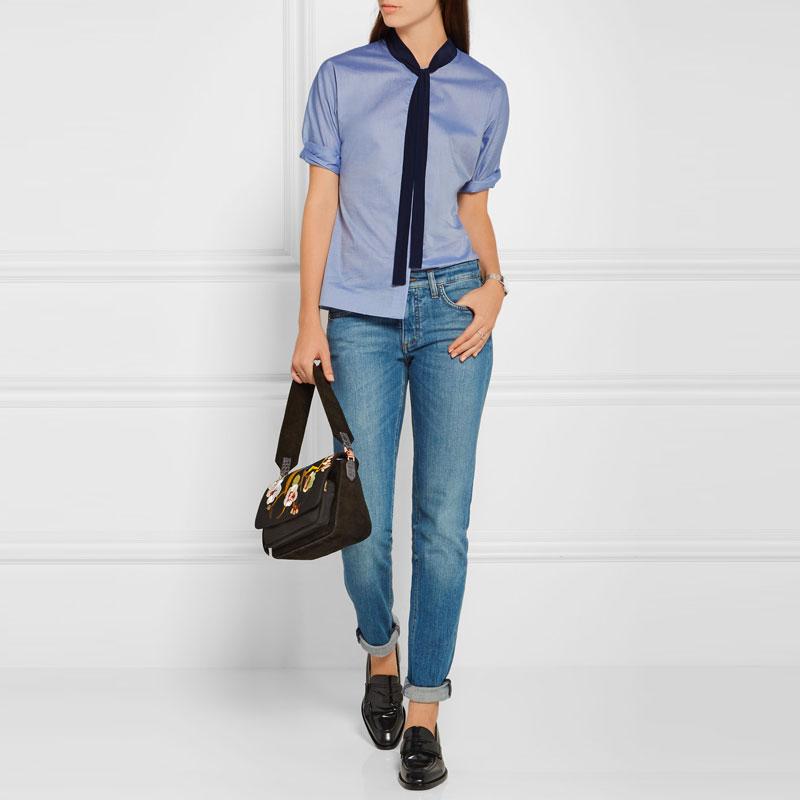 Shirt Fabric & No Bow