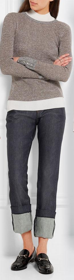 VANESSA SEWARD Alabama High-rise Straight-leg Jeans