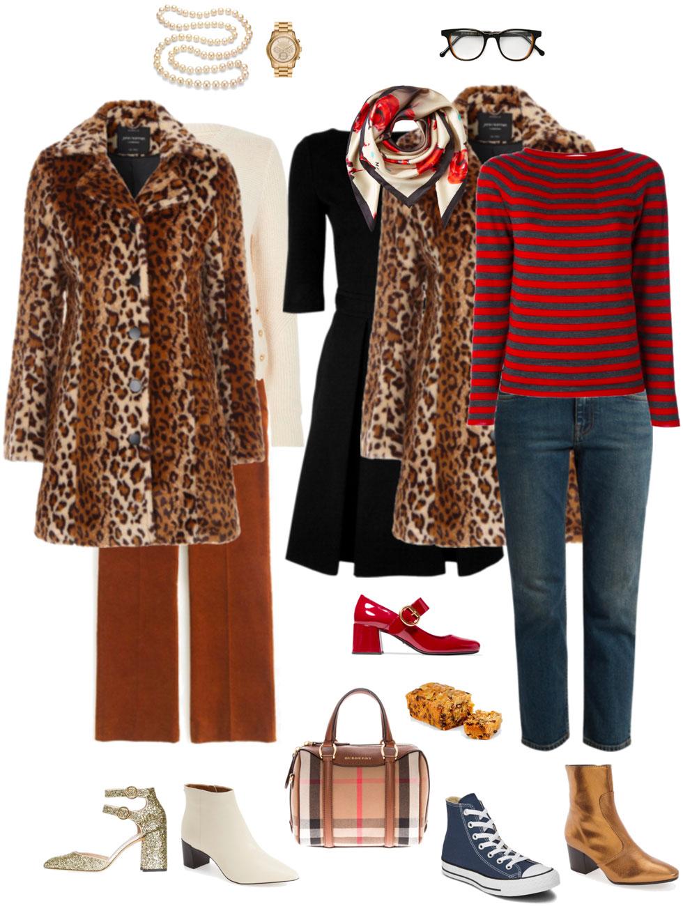 Ensemble: Leopard Topper Fabness