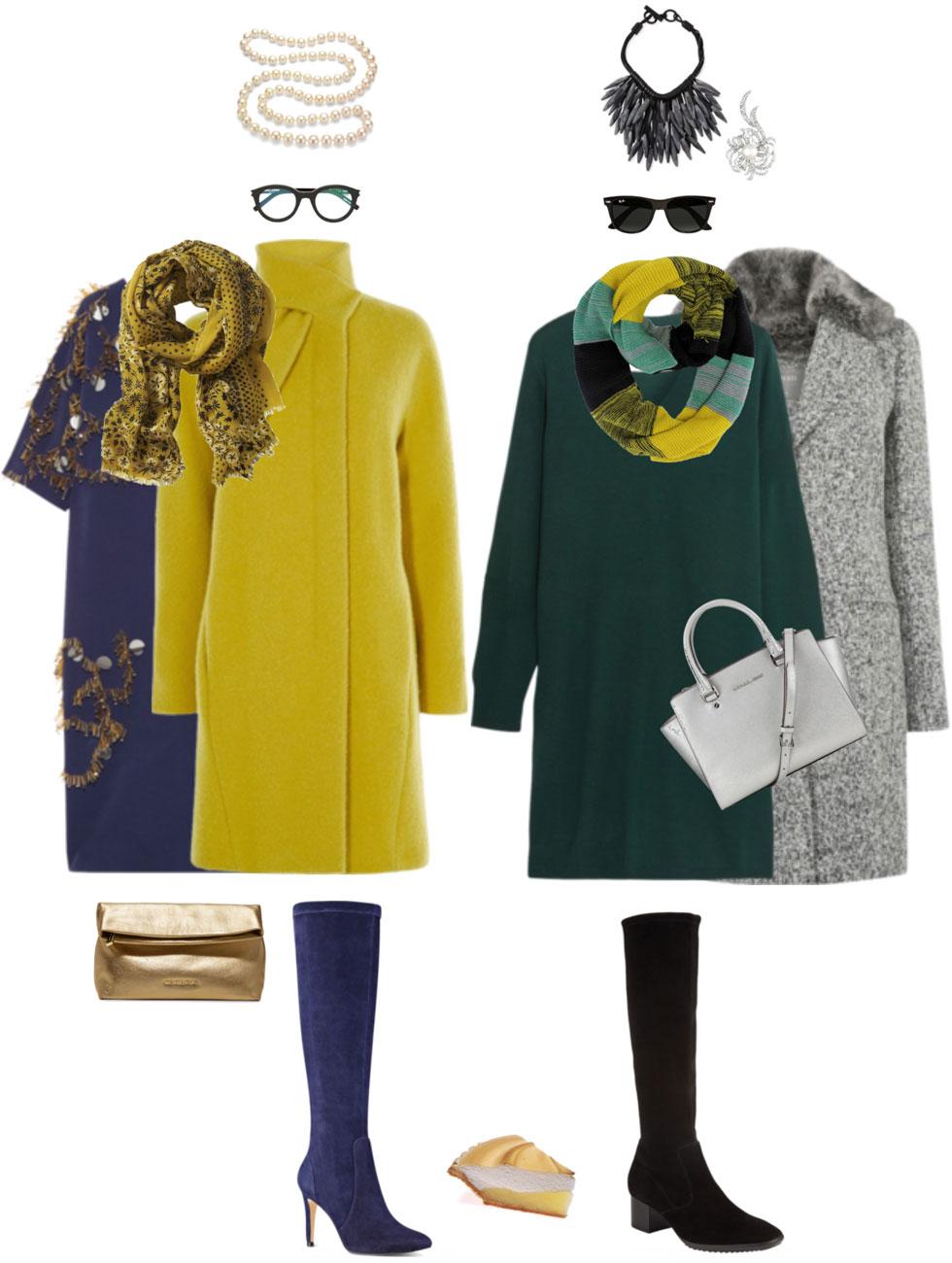 Ensemble: Maximal Sweater Dress & Tall Boots