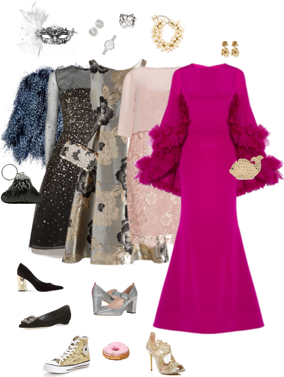 Ensemble Style Advice - Cinderella Goes to the Ball