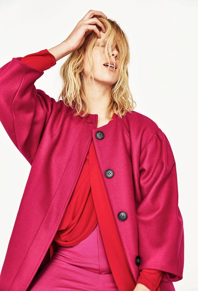 Zara Coat with Full Sleeves
