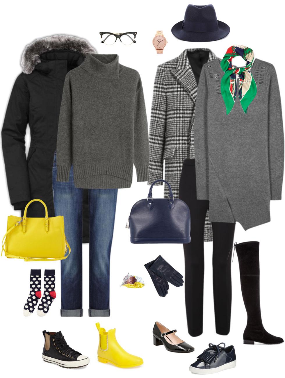 Ensemble Style Advice - Black & Grey with a Kick