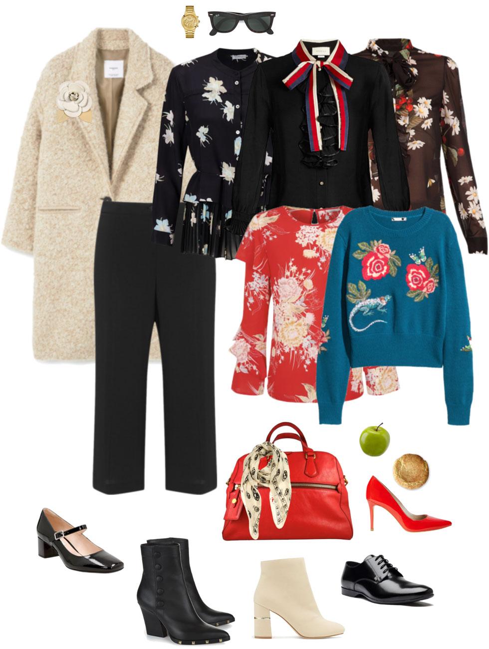 Ensemble Style Advice - Culottes & Cocoon Coat