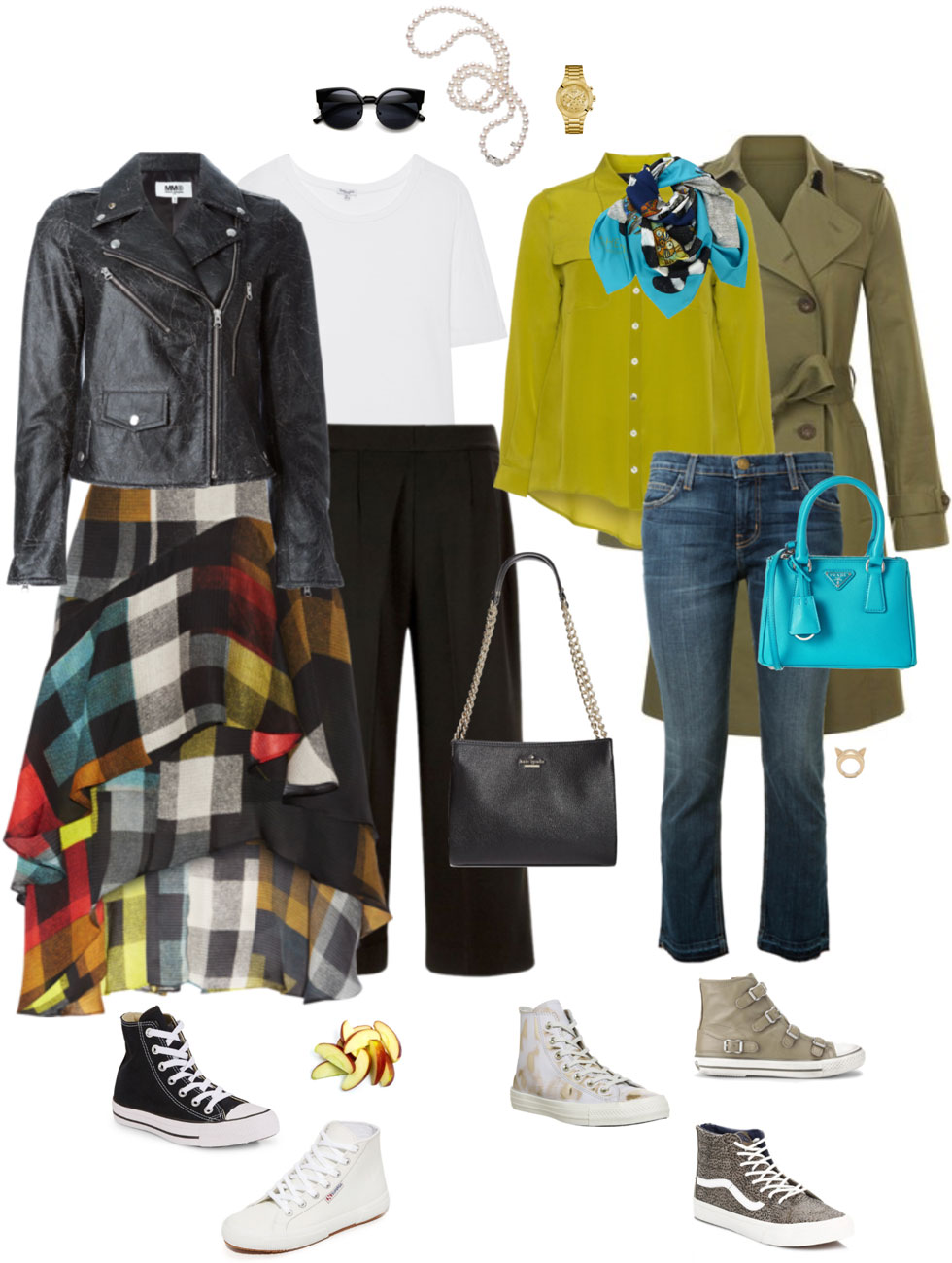 Ensemble Style Advice - Dressed Up Hi-Tops