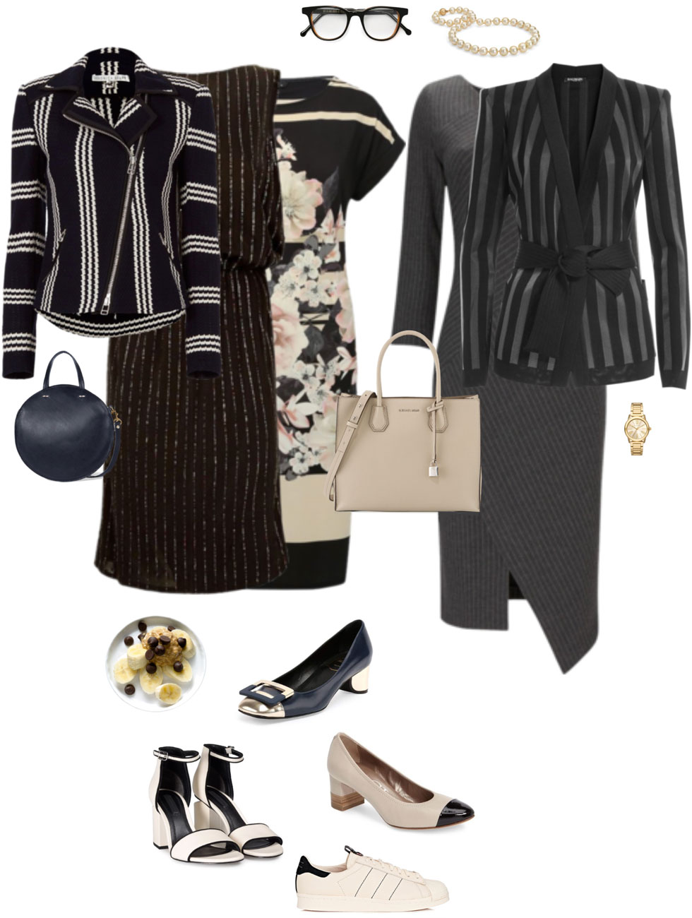 Ensemble: Stripe, Stripe & Colourblock