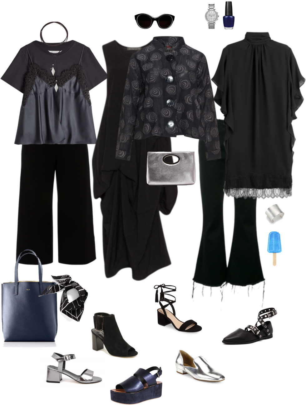 Ensemble: Spring & Summer Black-Out