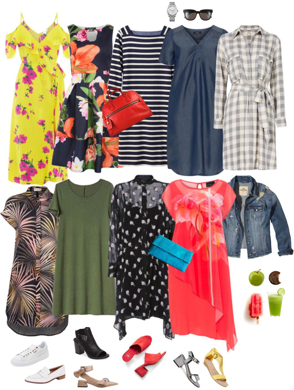 Ensemble: Fab Summer Dress