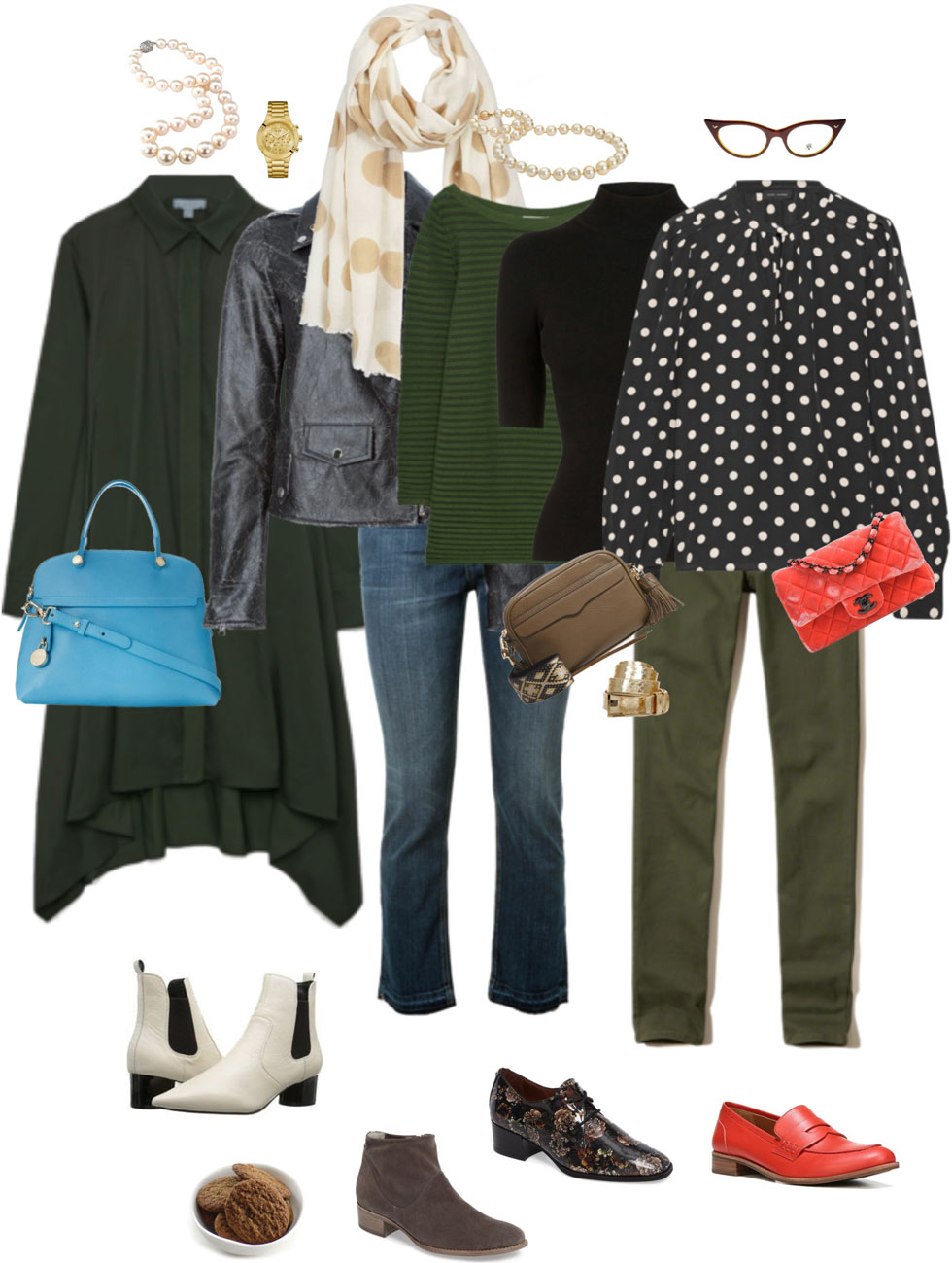 Ensemble: Olive & Black Lite