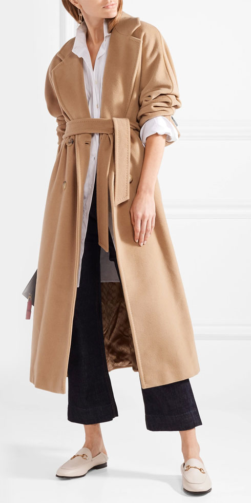 MAX MARA Madame 101801 Wool and Cashmere-blend Coat