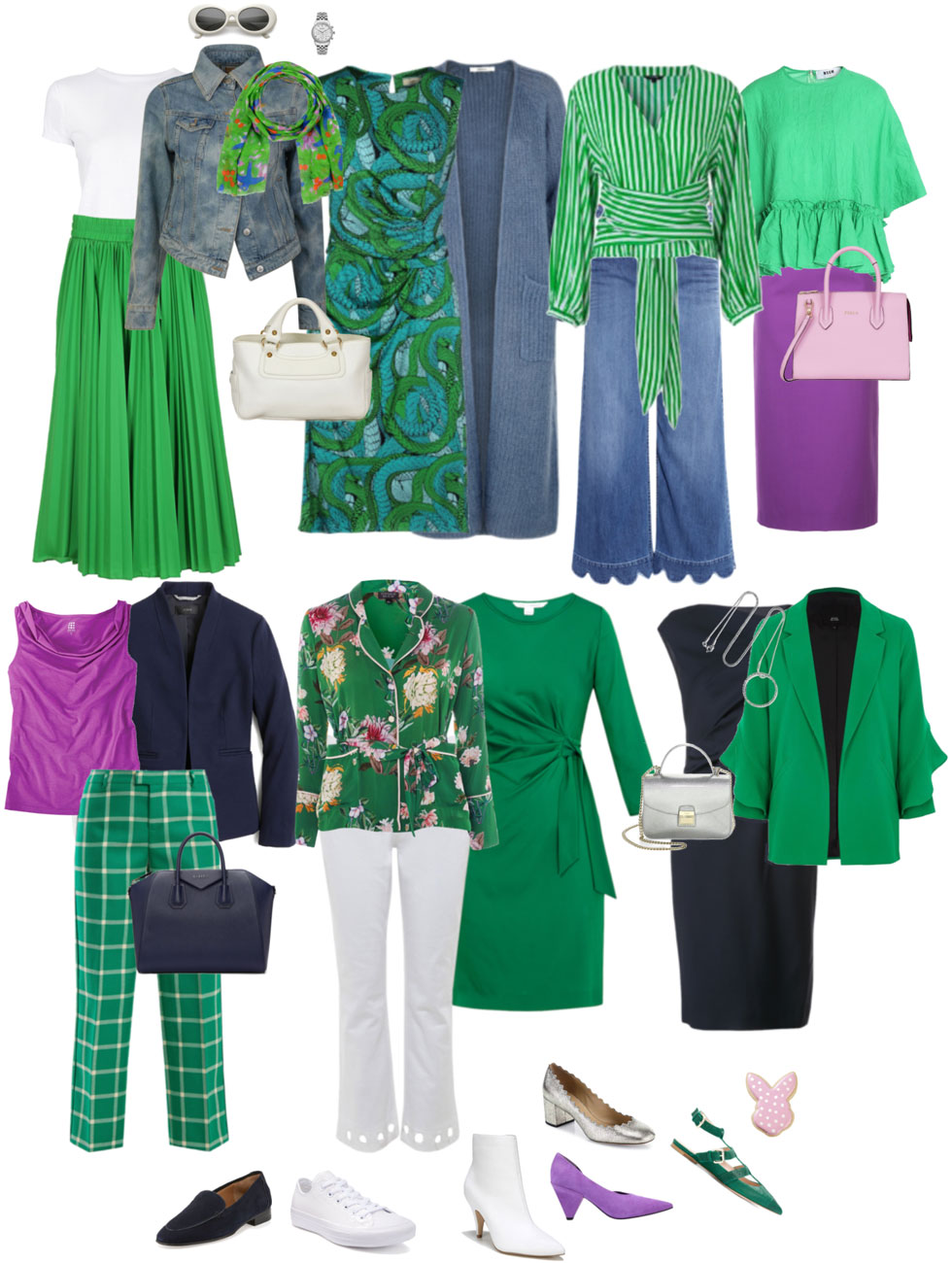 Ensemble Style Advice - Cool Spring Emerald