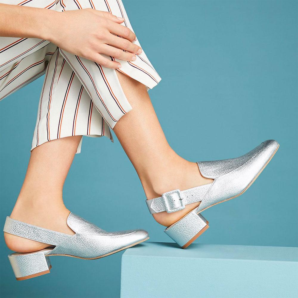 Fashion Trend - Slingback Pumps & Flats
