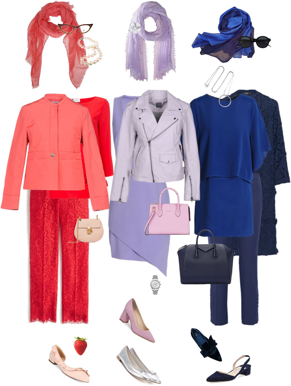 Ensemble Style Advice - Tonal Column of Colour