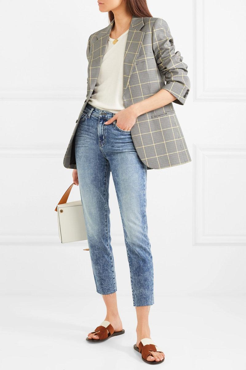 L'AGENCE El Matador High-rise Slim-leg Jeans