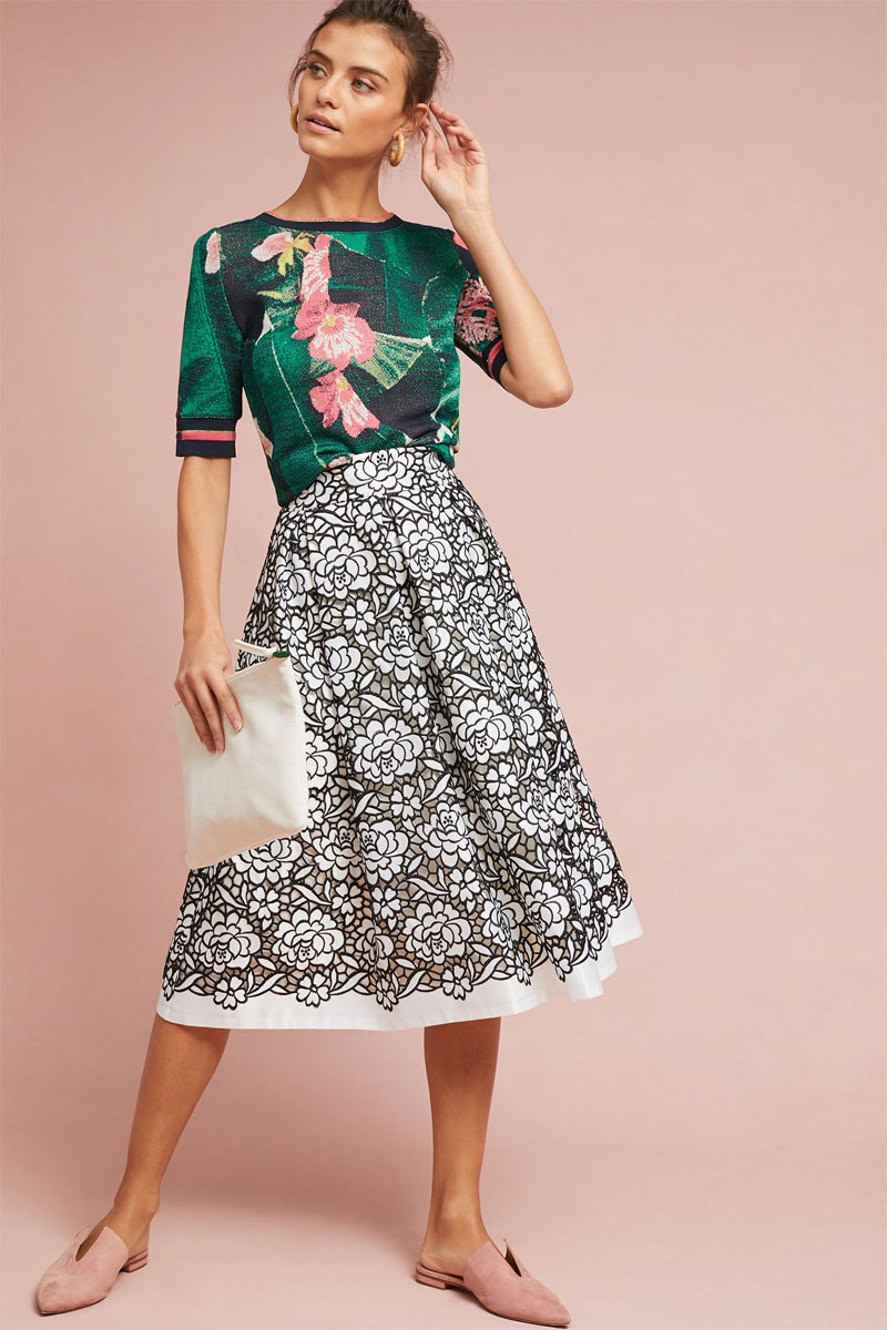 Anthropologie-Callas-Lace-Skirt