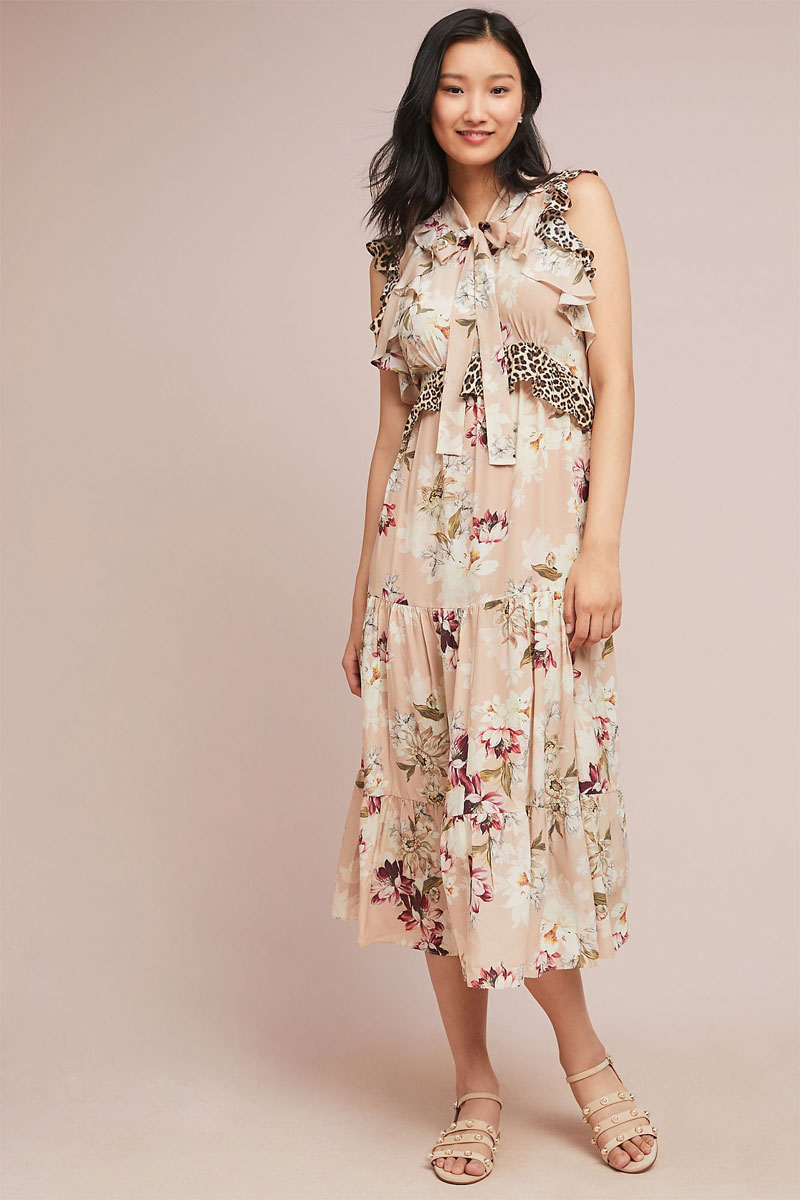 Anthropologie Sedona Sunrise Maxi Dress