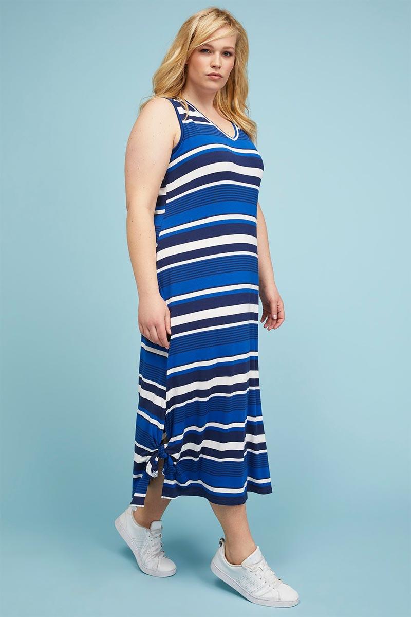 Lane Bryant Knot Hem Knit Midi Dress