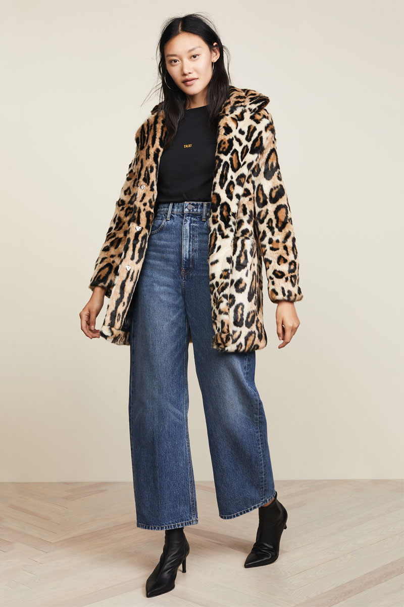 Apparis Margot Faux Fur Coat