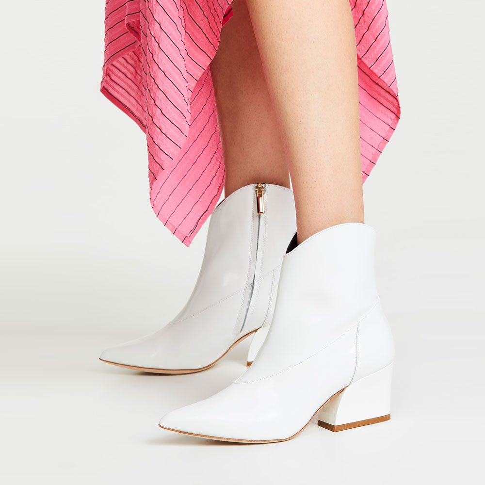 Fashion Trend - White Boots