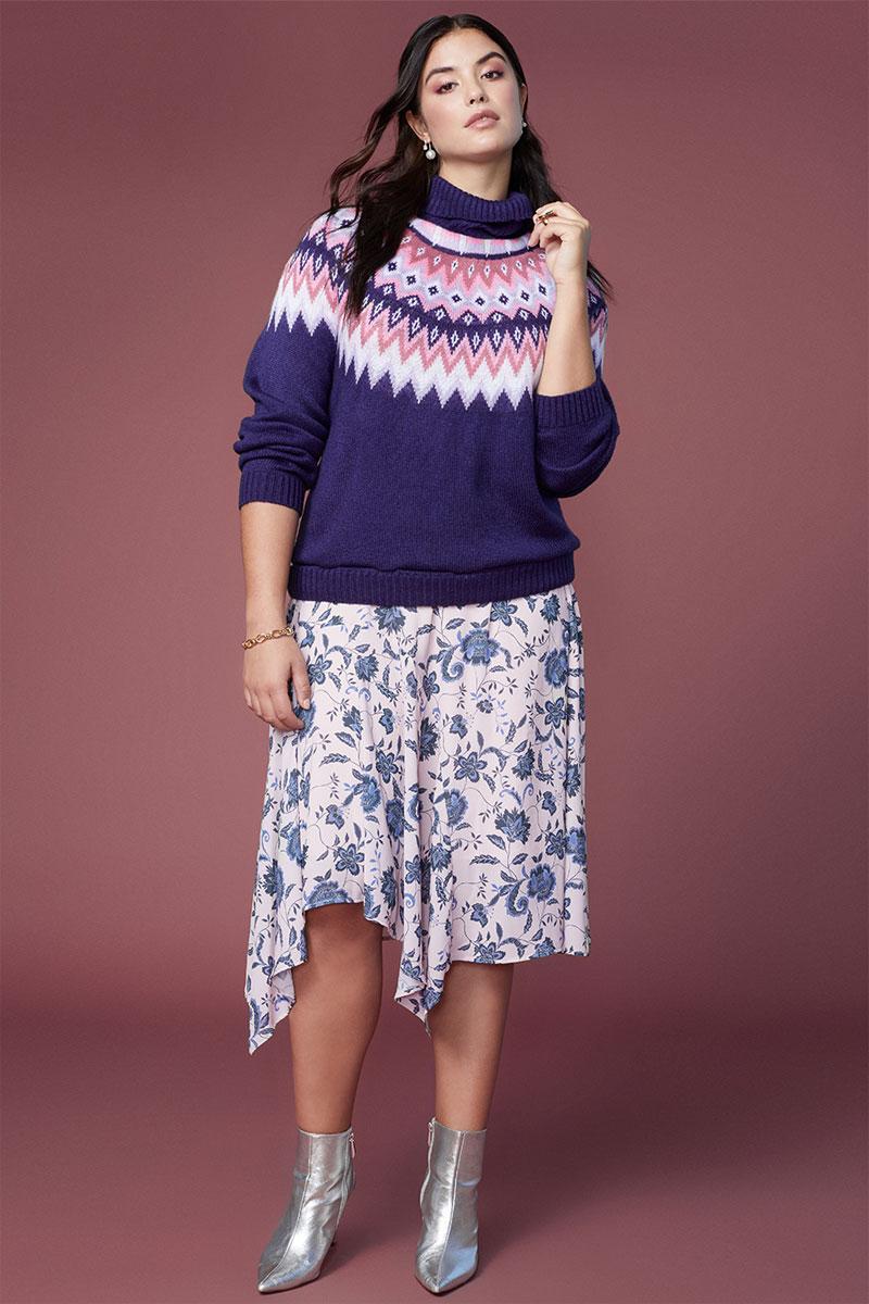 Eloquii Fair Isle Sweater
