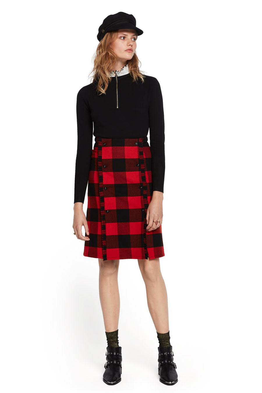 Scotch & Soda Lumberjack Check Skirt