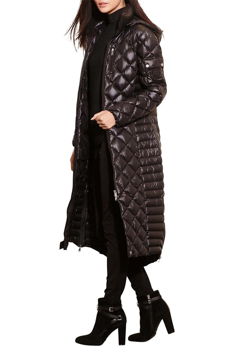 Lauren Ralph Lauren Packable Quilted Down Coat
