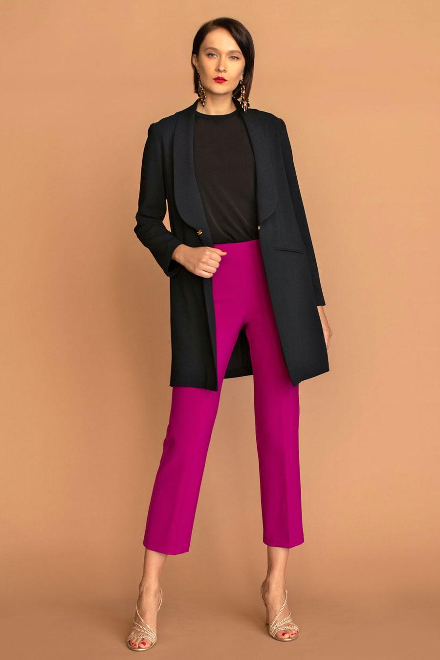 Trina Turk Critic Long Blazer