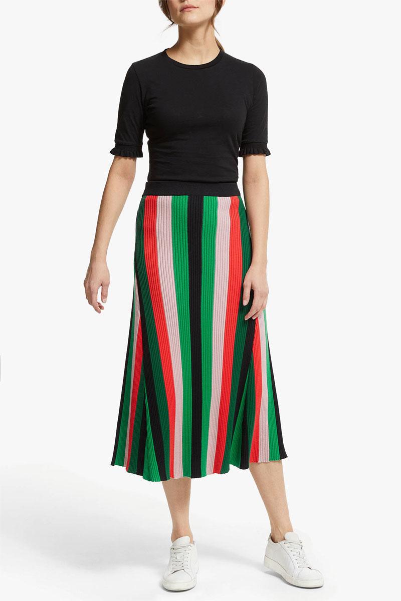 ARMEDANGELS Aadina Stripe Skirt