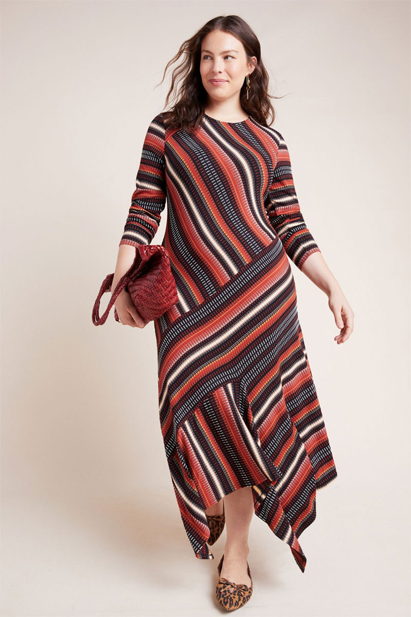Anthropologie Parkside Knit Dress