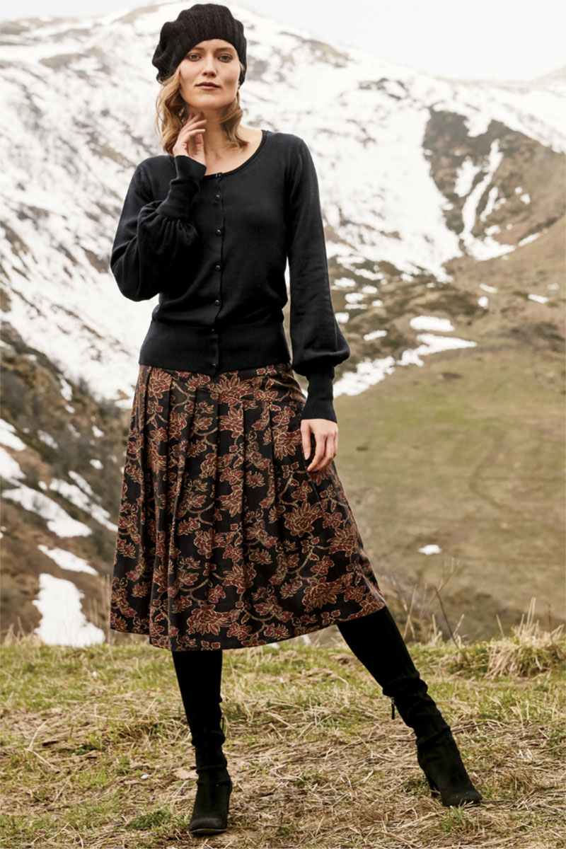 Peruvian Connection Haiku Skirt