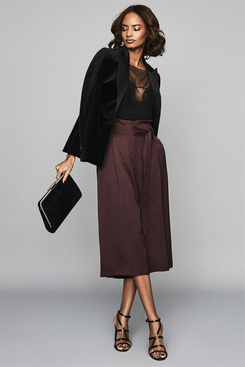 Ludlow Belted Culottes