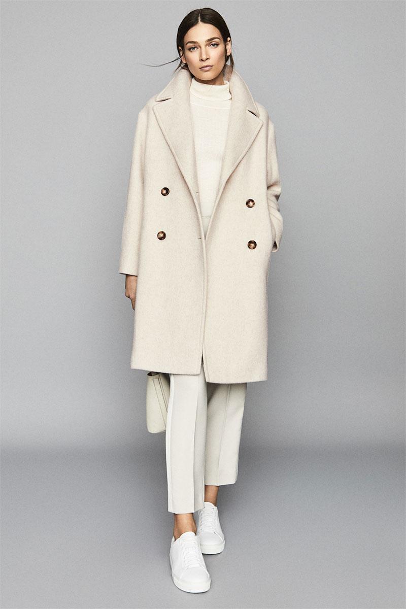 Scarletta Wool Blend Teddy Coat
