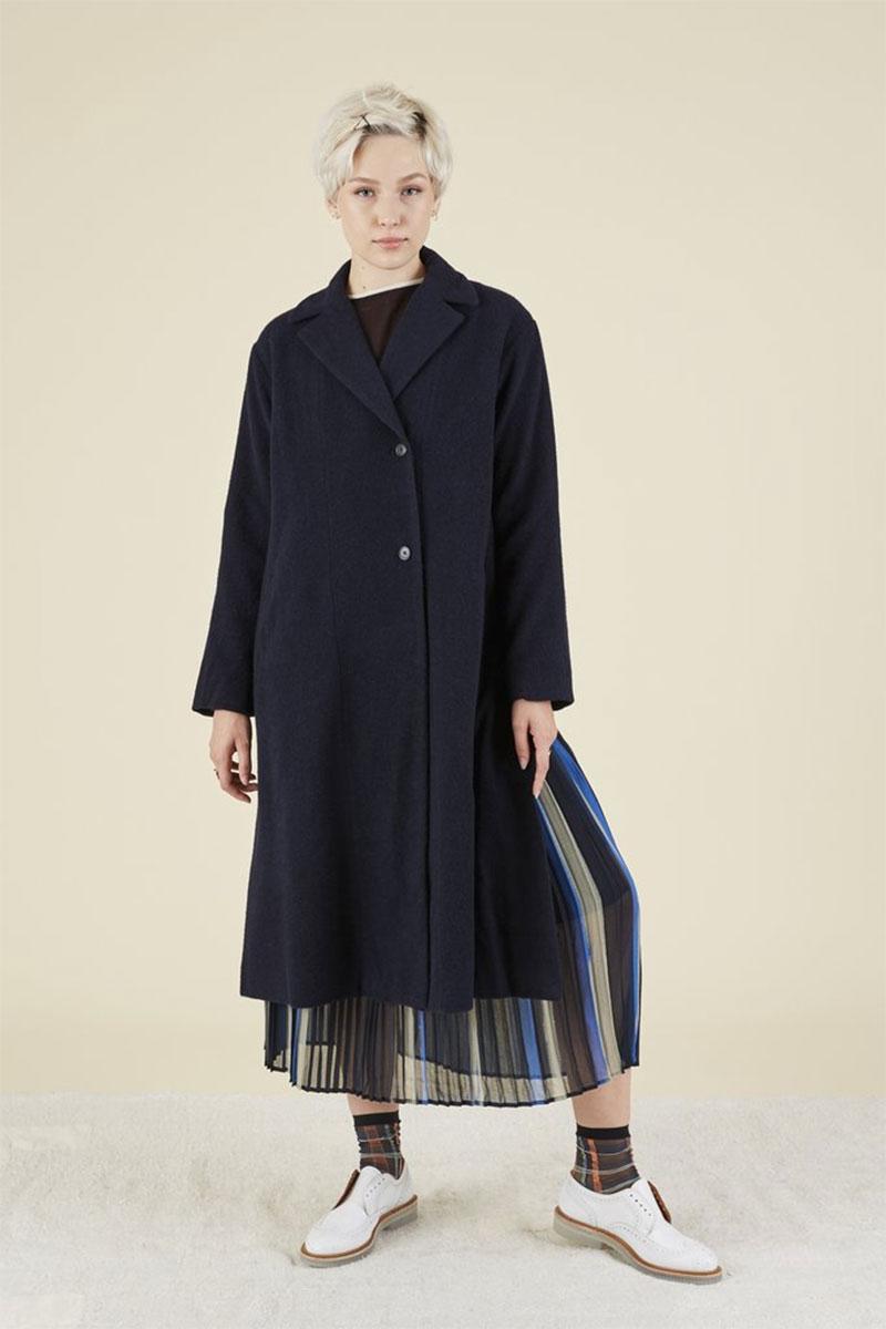 YOSHI KONDO Commuter Wool Coat
