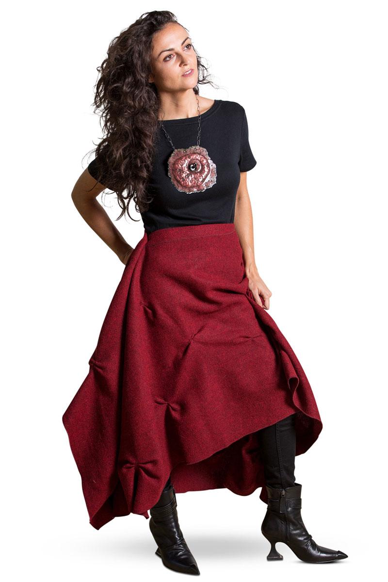 Lisa LeMair Wrap Pinch Skirt/Wrap