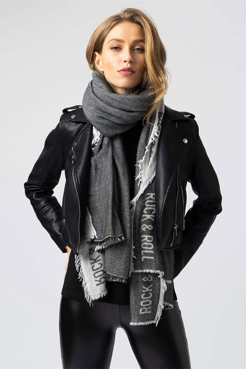 Saint+Sofa Rock and Roll Scarf